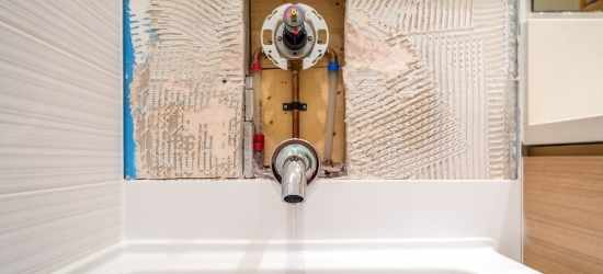 Who should do shower unblocking & repairs?