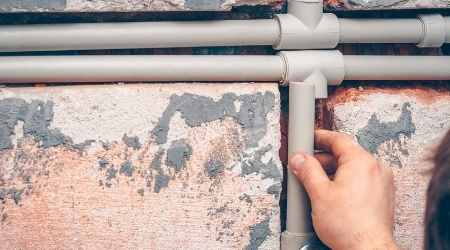Can You Bury Plastic Pipes on Walls?